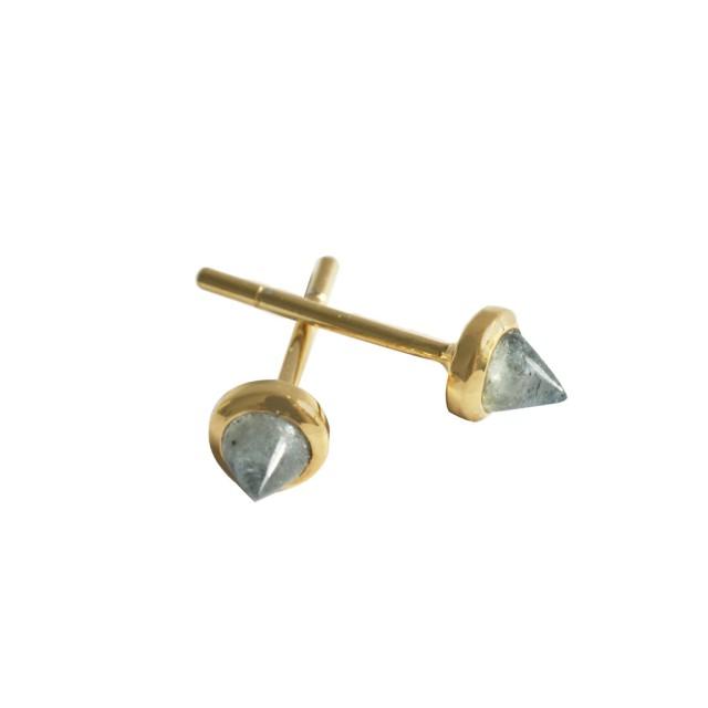 Gemstone Cone Studs